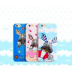 Coque iPhone 6 Plus/6s Plus Funny Series Girafe