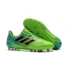 factory authentic da25d 4ad04 Adidas ACE 17.1 Leather FG Fotbollskor grön. NIke Mercurial Superfly V AG  Fotbollsskor ...
