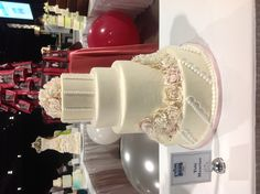 My submission to the Baking and Sweets Show wedding cake competition in Toronto