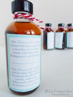 Homemade Vanilla Extract.... @Morgan Morrow ???? Possible gift idea!