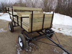 Wagonette    - 13`` wheels  - fifth wheel  - 8` long      $2700.00