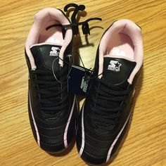 Girls Cleats Brand new never worn with tags Starter brand size 5 Girls pink  and black cleats. Starter Shoes Athletic Shoes