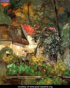 Cezanne, House of Pere Lacroix in Auvers
