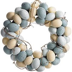 DIY Robin's Egg Wreath