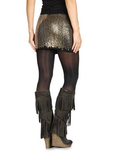 Diesel o-romp skirt and cletus boots