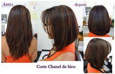 cabelo chanel de bico - Pesquisa Google