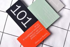 Picture of 6 designed by 101 for the project 101. Published on the Visual Journal in date 14 November 2017
