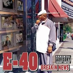 E-40 BREAKING NEWS COVER
