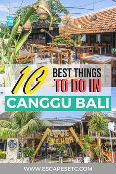 Planning a trip to Canggu Bali? Here's my guide to visiting and the best things to do in Canggu! Tips and Tricks Bali Travel Guide, Travel Guides, Travel Tips, Travel Stuff, Budget Travel, China Travel, Japan Travel, Canguu Bali, Bali Sunset