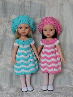Хроники Абигель: Осеннее настроение, сентябрь / Paola Reina, Antonio Juan и другие испанские куклы / Бэйбики. Куклы фото. Одежда для кукол Knitting Dolls Clothes, Crochet Doll Clothes, Doll Clothes Patterns, Girl Dolls, Baby Dolls, Crochet Baby, Knit Crochet, American Girl Crochet, Nancy Doll