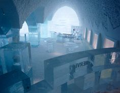 Absolut Ice Bar design de Jens Thoms Ivarsson, Mats Nilsson and Jon Nilsson, Sweden.