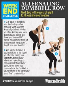 Sculpt Your Upper Body This Weekend!  http://www.womenshealthmag.com/fitness/upper-body-workout-challenge
