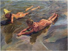 Joaquin Sorolla y Bastida, one of my all time favorite artists!