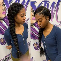 hair style braids, butterfly braid и hair Braided Hairstyles For Black Women Cornrows, Weave Ponytail Hairstyles, African Braids Hairstyles, Black Girls Hairstyles, Quick Black Hairstyles, Amazing Hairstyles, Baddie Hairstyles, Hairstyles Pictures, Teen Hairstyles