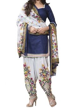 d8f933dba87 This Exclusive Patiala Suit Is An Ultimate Casual Wear Collection With The  Mesmerizing Colours Of Blue