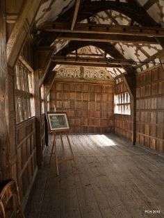 Little Moreton Hall - More wonky wood by Paul's Pixels, via Flickr