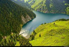 Bird's Eye View – Kazakhstan's Tian Shan Region Landscape Pictures, Nature Pictures, Brunei, Sri Lanka, Laos, Nepal, Beautiful World, Beautiful Places, Amazing Places