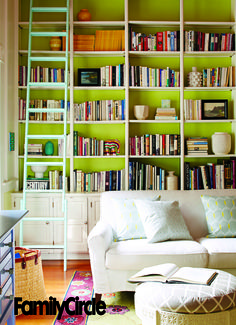 Colorful library