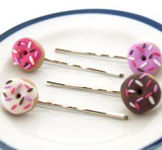 Donut Hair pins by AndyGlamasaurus