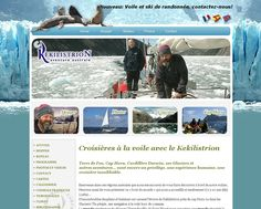 Velero Kekilistrion  Navegación por los canales Fueguinos.  Web no administrable  Galería de Fotos