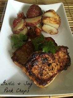 Garlic and Soy Pork Chops / by My Sweet Zepol