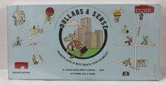 DOLLARS-SENSE-Rare-1980-Financial-Board-Game-Better-Games-Inc-Sealed-New