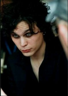Ville Valo from the love metal Finnish band H.I.M.