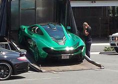 Grüner McLaren P1 in den USA entdeckt