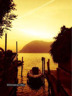 Sunset, Lake Iseo, Italy