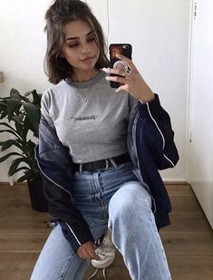 pin: b e l l e The post pin: b e l l e appeared first on Kleidung ideen. pin: b e l l e The post pin: b e l l e appeared first on Kleidung ideen. Mode Outfits, Grunge Outfits, Grunge Fashion, Jean Outfits, Look Fashion, Trendy Outfits, Girl Fashion, Fashion Outfits, Short Hair Outfits