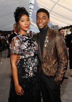 Black Celebrity Couples, Black Couples, Black Celebrities, Celebs, Sports Celebrities, Get On Up, Black King And Queen, Black Panther Marvel, Sag Awards