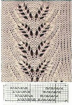 Lace Knitting Pattern Rowan Leaves