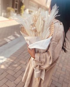 """LA PALMS Collection on Instagram: """"""""I always say that us florist aren't just people who sell flowers. We give hope and comfort to people in pain. If you treat flowers as a…"""" Dried Flower Bouquet, Dried Flowers, Give Hope, Bunny Tail, Gypsophila, How To Preserve Flowers, Palms, Flower Arrangements, Pampas Grass"""