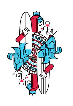 Surf Royale by Dario Genuardi, via Behance
