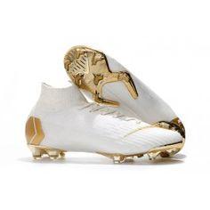 newest 27883 56c93 Nike Mercurial Superfly VI Elite FG Botas de Futbol - Blanco Oro