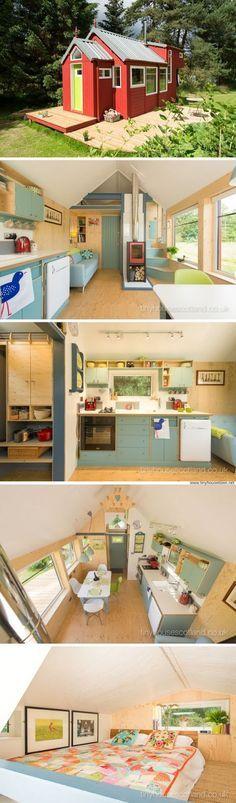 mytinyhousedirectory: The NestHouse From Tiny House Scotland