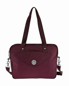 Baggallini International Athens Laptop bagg ATHN646ESTM - Luggage Pros