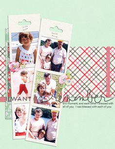 Scrapbook Page Starters: Arrange Photos and Elements in an Asymmetrical Cross | Tara McKernin | Get It Scrapped