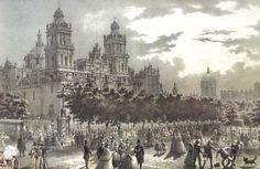 Siglo XIX: De la Plaza de la Constitución al Zócalo   KMCERO