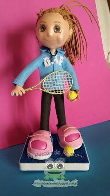 El rincón de Mariann: Fofucha tenista