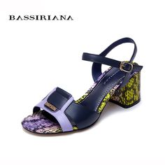 Genuine leather Back strap Square heel  BASSIRIANA     Tag a friend who would love this!     FREE Shipping Worldwide | Brunei's largest e-commerce site.    Buy one here---> https://mybruneistore.com/sandals-women-shoes-high-heel-genuine-leather-summer-2017-back-strap-square-heel-35-40-size-free-shipping-bassiriana/