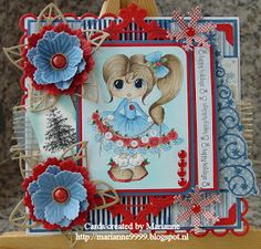 Cards created by Marianne: Happy Holidays