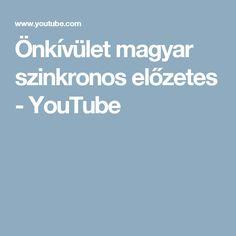 Önkívület magyar szinkronos előzetes - YouTube