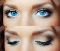 eye+makeup+techniques+for+blue+eyes+http://qserabeauty.com/eye-makeup-techniques-for-blue-eyes/