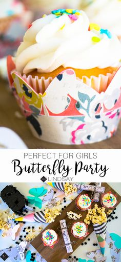 Create some beautiful butterfly party accents using your Cricut and items found at Tuesday Morning. Find your local Tuesday Morning store for great scrapbooking selections. Paper Folding Crafts, Diy Paper, Paper Crafts, Creative Crafts, Fun Crafts, Crafts For Kids, Welcome Home Parties, Quick And Easy Crafts, Butterfly Party