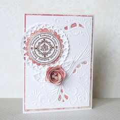 love, life and crafts: Love these Marianne dies that cut and emboss!