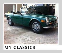 1971 Honda S800 classic car