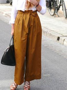 Pantalon Extra large - Modèle 111  Burda Style juin 2015