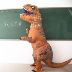 InflaTable Toys Clothing Dinosaur Adult Models Air Blowing Up Costume Funny Halloween Toy Halloween Toys, Funny Halloween, Inflatable Costumes, Halloween Inflatables, Up Costumes, Funny Toys, Retro Toys, Toy Sale, Dinosaur Stuffed Animal