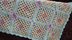 Spring Time Granny Blanket By Esther Leavitt - Free Crochet Pattern - (craftown)